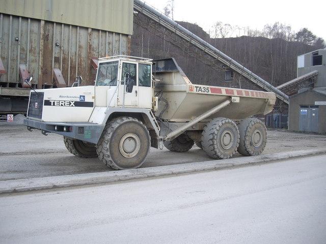 Mining Articulated Dump Truck