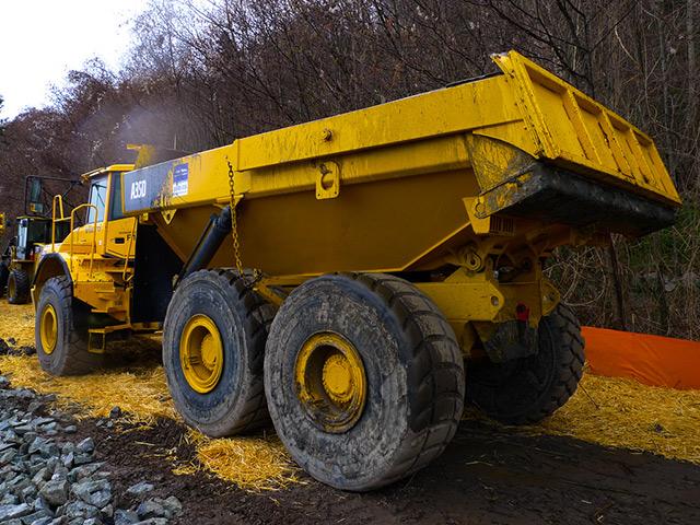 Articulated Dump Truck Yuke Truck
