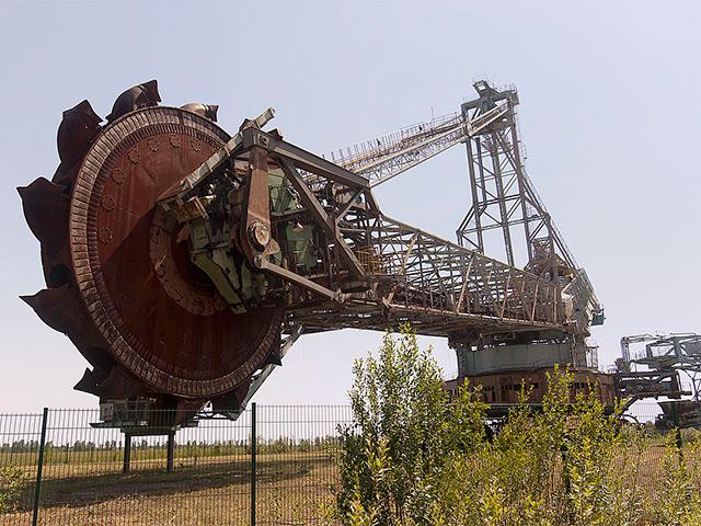 Bucket Wheel Excavator SRs 1500