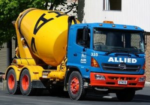 image of a cement mixer in Ohio